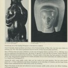 1968 Sculptor Vasco Conceicao Vintage 1968 Art Ad Advert Portugal