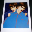 Elizabeth Peyton Liam + Noel Gallagher Art Ad Advertisement