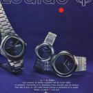 1975 Zodiac Watch Company Le Locle Switzerland Vintage 1975 Swiss Ad Suisse Advert Horlogerie