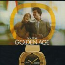 Mido Watch Company Switzerland Vintage 1975 Swiss Ad Suisse Advert Horlogerie