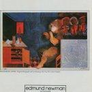 Alvar Reflexions de l'Artiste Vintage 1982 Art Ad