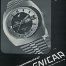 Enicar Watch Company Bienne Switzerland 1972 Swiss Ad Suisse Advert Horology