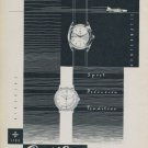 Cortebert Watch Company Switzerland Vintage 1959 Swiss Ad Suisse Advert Horology