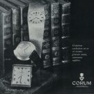 Corum Watch Company Ries, Bannwart & Co. Vintage 1972 Swiss Ad Suisse Advert