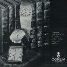 Corum Watch Company Ries, Bannwart & Co. Vintage 1972 Swiss Ad Suisse Advert