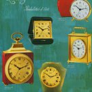 Arthur Imhof Clock Company Switzerland Vintage 1971 Swiss Ad Suisse Advert