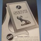1955 Seitz Watch Supply Company Switzerland Vintage 1955 Swiss Ad Suisse Advert Horology