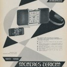 1958 Teriam Watch Company 25th Anniversary Vintage 1958 Swiss Ad Suisse Advert Switzerland