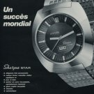 Enicar Watch Company Sherpa Star Vintage 1971 Swiss Ad Suisse Advert Horology