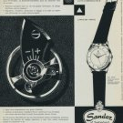 1956 Sandoz Watch Company Switzerland 1956 Swiss Ad Suisse Advert Horology