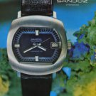 1971 Sandoz Watch Company Switzerland 1971 Swiss Ad Suisse Advert Horology