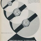 1959 Teriam Watch Company La Chaux-de-Fonds Switzerland Vintage 1959 Swiss Ad Suisse Advert