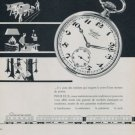 Cortebert Watch Company Switzerland 1958 Swiss Ad Suisse Advert Horlogerie