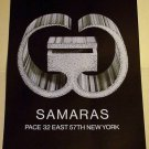 1968 Lucas Samaras Vintage 1968 Art Ad Advert Pace Gallery NY