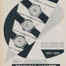 Teriam Watch Company Switzerland Vintage 1958 Swiss Ad Suisse Advert Horology Horlogerie