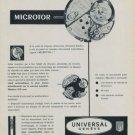 1958 Universal Watch Company Universal Geneve 1958 Swiss Ad Suisse Advert Horlogerie