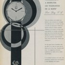 1958 Louis Lang S.A. Company Porrentruy Switzerland 1958 Swiss Ad Suisse Advert Horology Horlogerie