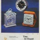 1972 Swiza Clock Company Switzerland Vintage 1972 Swiss Ad Suisse Advert Horology
