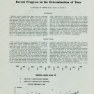 1950 Progress in the Determination of Time by Humphrey M. Smith 1950 Swiss Magazine Article Horology