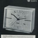 Imhof Clock Company Switzerland Vintage 1972 Swiss Ad Suisse Advert Horology