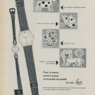 1958 Lacar Company Max Gimmel S.A. 1958 Swiss Ad Suisse Advert Horology Horlogerie