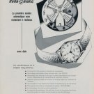 1956 Phenix Watch Company Porrentruy Switzerland Vintage 1956 Swiss Ad Suisse Advert Horology