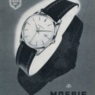 1959 Moeris Watch Company Switzerland Vintage 1959 Swiss Ad Suisse Advert Horology