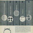 Bureau Galvatest Grenchen Switzerland 1958 Swiss Ad Suisse Advert Horology