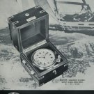 1972 Montremo Clock Company Switzerland Montremo Marine Advert 1972 Swiss Ad Suisse Advert