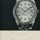 1967 Technos Watch Company Technos The King Advert Vintage 1967 Swiss Ad Suisse Advert