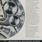 1958 Ebauches SA Company Switzerland Vintage 1958 Swiss Ad Suisse Advert Horology Horlogerie