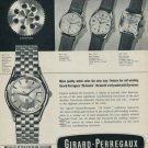 1958 Girard-Perregaux Watch Company La Chaux-de-Fonds Switzerland 1958 Swiss Ad Suisse Advert