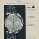 1959 Ernest Borel Watch Company 100 Year Anniversary Vintage 1959 Swiss Ad Suisse Advert