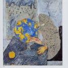 Miquel Barcelo (1982) Art Ad Advertisement