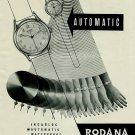 Rodana Watch Company 1950 Swiss Ad Grenchen Switzerland Suisse Advert Horologie Horology