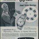 1957 Girard-Perregaux Watch Company Switzerland 1957 Swiss Ad Suisse Advert Horology