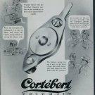 Cortebert Watch Company Spirofix 1950 Swiss Ad Switzerland Suisse Advert Horlogerie
