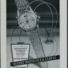 1950 Record Watch Company Geneva Switzerland Vintage 1950 Swiss Ad Suisse Advert Geneve