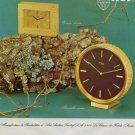 1970 Imhof Clock Company Switzerland Vintage 1970 Swiss Ad Suisse Advert Horlogerie