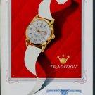 1957 Reusser Watch Company Switzerland Vintage 1957 Swiss Ad Suisse Advert Horlogerie