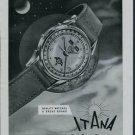 1950 Itana Watch Company Geneva Switzerland Vintage 1950 Swiss Ad Suisse Advert