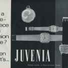 1970 Juvenia Watch Company Switzerland Vintage 1970 Swiss Ad Suisse Advert Horlogerie