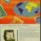 1957 Swiza Clock Company Moutier Switzerland 1957 Swiss Ad Suisse Advert Horlogerie