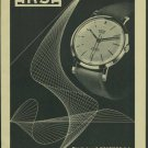 Arsa Watch Company 1957 Swiss Ad Tramelan Switzerland Suisse Horlogerie Advert