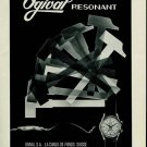 1956 Ogival Watch Company Switzerland Vintage 1956 Swiss Ad Suisse Advert Horlogerie Horology