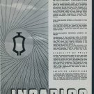 1950 Incabloc Universal Escapement Company Switzerland 1950 Swiss Ad Suisse Advert