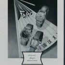 1950 Felca Watch Company Grenchen Switzerland Vintage 1950 Swiss Ad Suisse Advert