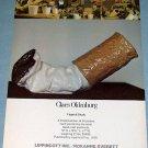 Claes Oldenburg Fagend Story Vintage 1976 Art Ad Advert