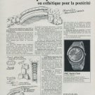 1970 IWC International Watch Company Switzerland Vintage 1970 Swiss Ad Suisse Advert