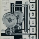 Angelus Clock Company Le Locle Switzerland 1957 Swiss Ad Suisse Horlogerie